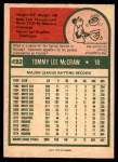 1975 O-Pee-Chee #482  Tom McCraw  Back Thumbnail