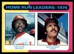 1975 O-Pee-Chee #307   -  Rich Allen / Mike Schmidt HR Leaders  Front Thumbnail