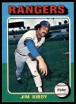 1975 O-Pee-Chee #155  Jim Bibby  Front Thumbnail