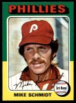 1975 O-Pee-Chee #70  Mike Schmidt  Front Thumbnail