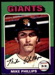 1975 O-Pee-Chee #642  Mike Phillips  Front Thumbnail