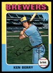 1975 O-Pee-Chee #432  Ken Berry  Front Thumbnail