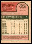 1975 O-Pee-Chee #595  Joe Niekro  Back Thumbnail