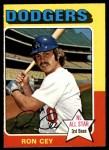 1975 O-Pee-Chee #390  Ron Cey  Front Thumbnail