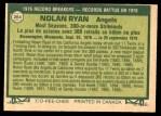 1977 O-Pee-Chee #264   -  Nolan Ryan Record Breaker Back Thumbnail