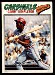 1977 O-Pee-Chee #84  Garry Templeton  Front Thumbnail