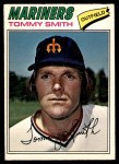 1977 O-Pee-Chee #92  Tommy Smith  Front Thumbnail