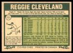 1977 O-Pee-Chee #111  Reggie Cleveland  Back Thumbnail