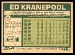 1977 O-Pee-Chee #60  Ed Kranepool  Back Thumbnail