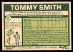 1977 O-Pee-Chee #92  Tommy Smith  Back Thumbnail