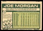 1977 O-Pee-Chee #220  Joe Morgan  Back Thumbnail