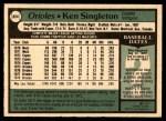 1979 O-Pee-Chee #324  Ken Singleton  Back Thumbnail