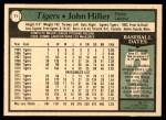 1979 O-Pee-Chee #71  John Hiller  Back Thumbnail