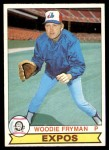 1979 O-Pee-Chee #135  Woodie Fryman  Front Thumbnail