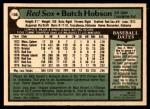 1979 O-Pee-Chee #136  Butch Hobson  Back Thumbnail