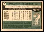 1979 O-Pee-Chee #89  Tim Johnson  Back Thumbnail