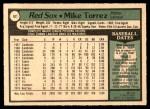 1979 O-Pee-Chee #92  Mike Torrez  Back Thumbnail