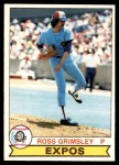 1979 O-Pee-Chee #4  Ross Grimsley  Front Thumbnail