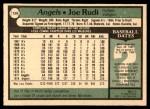 1979 O-Pee-Chee #134  Joe Rudi  Back Thumbnail
