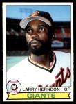 1979 O-Pee-Chee #328  Larry Herndon  Front Thumbnail
