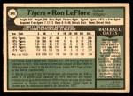 1979 O-Pee-Chee #348  Ron LeFlore  Back Thumbnail