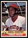 1976 O-Pee-Chee #78  Cecil Cooper  Front Thumbnail