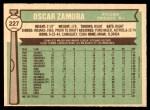 1976 O-Pee-Chee #227  Oscar Zamora  Back Thumbnail