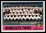 1976 O-Pee-Chee #556   -  Gene Mauch Twins Team Checklist Front Thumbnail