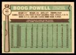 1976 O-Pee-Chee #45  Boog Powell  Back Thumbnail