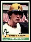 1976 O-Pee-Chee #161  Bruce Kison  Front Thumbnail