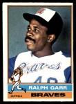 1976 O-Pee-Chee #410  Ralph Garr  Front Thumbnail