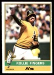 1976 O-Pee-Chee #405  Rollie Fingers  Front Thumbnail