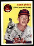1954 Topps Archives #256  Herb Score  Front Thumbnail