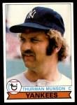 1979 Topps #310  Thurman Munson  Front Thumbnail