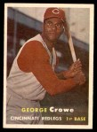 1957 Topps #73  George Crowe  Front Thumbnail