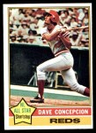 1976 Topps #48  Dave Concepcion  Front Thumbnail