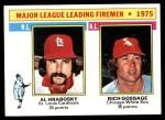 1976 Topps #205   -  Goose Gossage / Al Hrabosky Leading Firemen Front Thumbnail