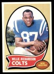 1970 Topps #246  Willie Richardson  Front Thumbnail