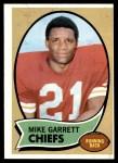 1970 Topps #179  Mike Garrett  Front Thumbnail