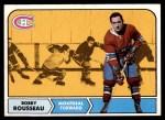 1968 Topps #65  Bobby Rousseau  Front Thumbnail