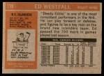 1972 Topps #159  Ed Westfall  Back Thumbnail