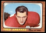 1966 Topps #62  Fred Arbanas  Front Thumbnail