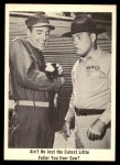 1965 Fleer Gomer Pyle #43   Ain't He Jest the Cutest Little Feller Front Thumbnail