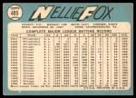 1965 Topps #485  Nellie Fox  Back Thumbnail