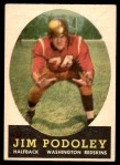 1958 Topps #121  Jim Podoley  Front Thumbnail