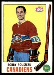 1969 Topps #9  Bobby Rousseau  Front Thumbnail