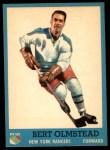 1962 Topps #57  Bert Olmstead  Front Thumbnail