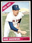 1966 Topps #523  Bob Sadowski  Front Thumbnail