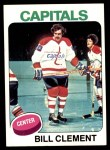 1975 Topps #189  Bill Clement   Front Thumbnail
