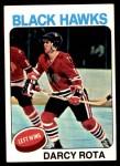 1975 Topps #66  Darcy Rota   Front Thumbnail